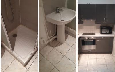 Intervention de nettoyage d'un logement insalubre en Normandie